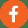 FacebookOrangeCircle